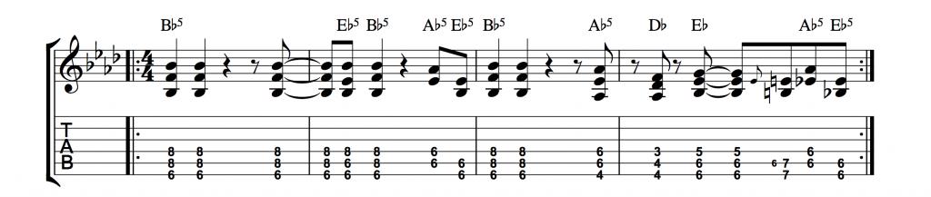 i-cant-dance-genesis-riff-di-chitarra-elettrica